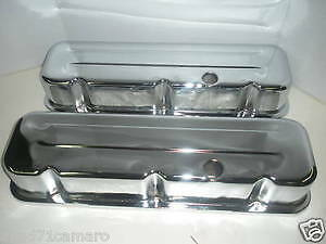 Bbc Big Chevy Chrome Tall Valve Covers 396 427 454 502 Steel