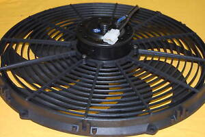 16 Reversible Electric Fan Pro Cooling Radiator Fits Sbc Bbc Chevy Ford