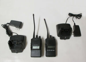 Lot Of 2 Vertex Standard Vx 354 g7 5 2 way Radios