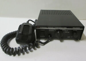 Federal Signal Corporation Pa300 Electronic Siren