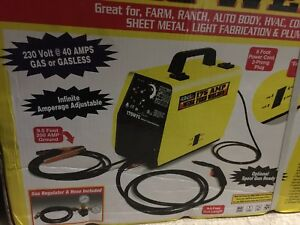 Hot Max 175 Amp Wire Feed Mig Welder 230v