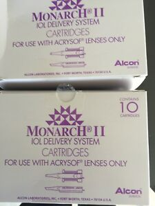 8065977757 Alcon Monarch Ii Iol Delivery System a Cartridges 4 Boxs Of 10