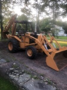 580 Case 4x4 Super E Backhoe Se Loader Bucket Excavator Deere 4wd Hoe 580se