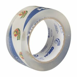 Duck Brand Hp260 Packaging Tape 1 88 In X 60 Yds clear