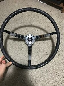 Original 1965 1966 1967 Ford Mustang Steering Wheel Decoration