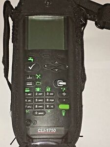 Wavetek Jdsu Cli 1750 Cable Signal Leakage Catv Meter W Battery And Ac Adapte
