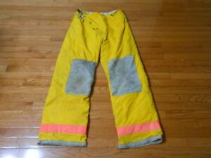 Firefighter Turnout Bunker Pants Globe 34x34 With Liner
