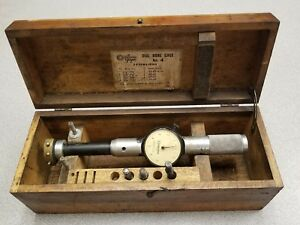 Standard Dial Bore Gage No 4 With Box 2 1 8 3 1 8