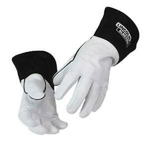 lincoln Electric Grain Leather Tig Welding Gloves High Dexterity Medium K