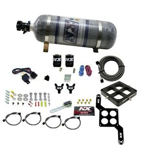 Nitrous Express 60547 12 Dominator Billet Crossbar Pro Power Composite Bottle
