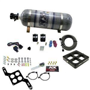 Nitrous Express 63070 12 Dominator Single Entry Billet Crossbar Stage 6 Composi