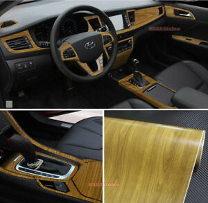 Hot Matte Wood Grain Textured Vinyl Wrap Sticker Car Home Decors Decal 449 Ab