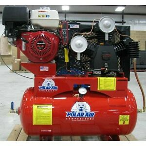 13 Hp 30 Gallon Gas Driven Air Compressor