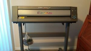 Roland Pc 60 Pc60 Dg Colorcamm Pro Printer Plotter Cutter Used Usa Seller