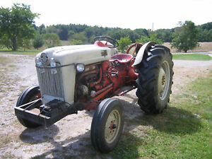 Ford Tractor 800 With 501 Sickle Bar