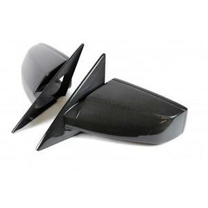 Apr Carbon Fiber Replacement Mirrors With Lens For 2005 09 Ford Mustang