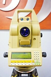 Leica Tca1800 1 Sec Second Total Station Dual Display Monitoring Tca 1800