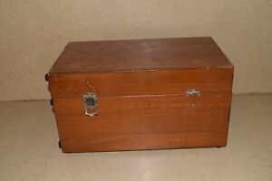 Shallcross Manufacturing No 759 Dc Kilovoltmeter With Wood Box
