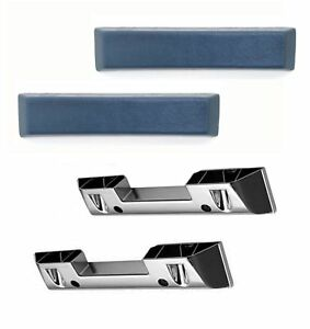 Arm Rest Base And Pad Set Blue Intended For 1964 1965 1966 Mustang s