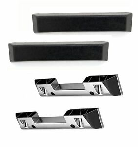 Arm Rest Base And Pad Set In Black Intended For 1964 1965 1966 Mustang s