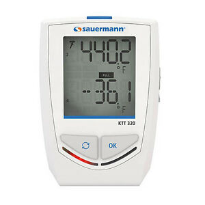 Sauermann Ktt 320 Bluetooth Thermocouple Data Logger