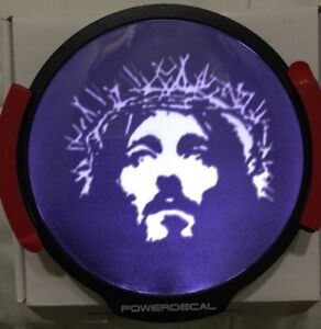 Jesus Light Up Decal Led Motion Sensing Auto Decal
