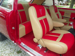 Pontiac Gto Interior Kit 64 74 Bucket Front Seats Rear Bench Seat Upholstery