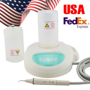 Dental Piezo Ultrasonic Scaler Handpiece Tip Self Contained Water Bottle Fit Ems