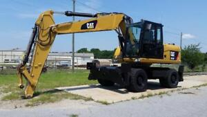 2012 Caterpillar M316d Wheeled Excavator Finance Available
