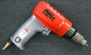 Mac Tools Air Pneumatic Reversible 3 8 Drill Ad800 With Jacobs Chuck