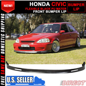For 99 00 Honda Civic Bys Style Front Bumper Lip