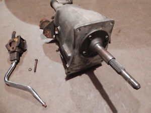 A833 Transmission Aluminum Overdrive 4 Speed Trans With Shifter No Linkage