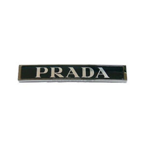Oem Genuine Rear Trunk Prada Logo Emblem For Hyundai Genesis Sedan 2009 2013