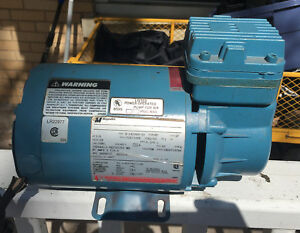 Thomas Air Compressor And Vacuum Ta 2051 1 6 Hp Nice Condition Airbrush