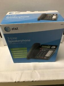 At t 2 Line Speakerphone W Caller Id Call Waiting Conference Speed Dial New