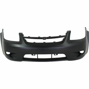 Bumper Cover For 2006 2010 Chevrolet Cobalt Front Plastic With Fog Light Holes