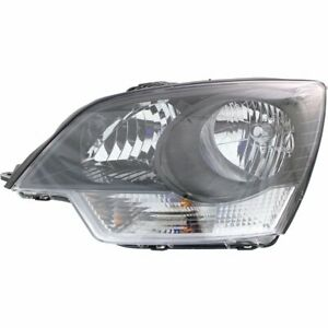 Headlight For 2015 Chevrolet Captiva Sport Left Clear Lens Halogen Composite