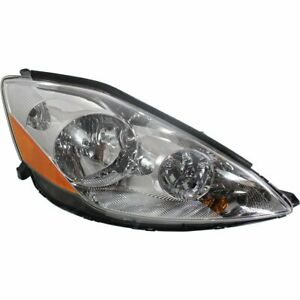 Headlight For 2006 2010 Toyota Sienna Right Clear Lens Hid With Bulb