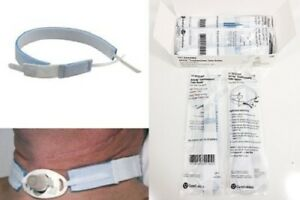 100 Airlife Tracheostomy Trach Throat Tube Holder Hook And Loop Fastener Tabs