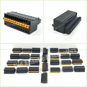 28 Phoenix Contact Pcb Connectors Terminal Block Plug Fk mc 0 5 12 st 2 5 Black