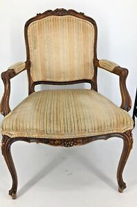 Ethan Allen Traditional Classics French Country Louis Xvi Regency Wingback Chair