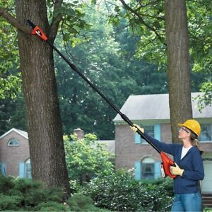 Electric Pole Saw Telescoping Telescopic Chain Saws Cordless Garden Tree Trimmer
