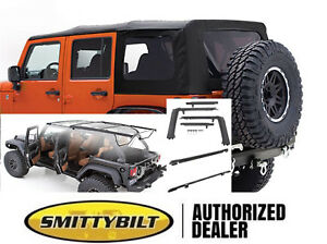 Soft Top With Hardware Tint Windows 07 18 For Jeep Wrangler Unlimited 4 Door