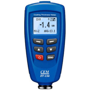 Ce Cem Dt 156 Professional Paint Coating Thickness Tester Meter Gauge Nt