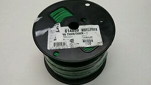 12 Awg Solid Copper 600v Thhn thwn 2 Wire 12 Awg Green 500 Ft Pvc nylon