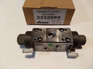 Wagner Farbventil Tc 2 6mm Paint Valve 5bar 400bar 2332669 Sprayer Ch 9450