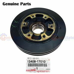 Genuine Toyota Landcruiser 70 80 Series 4 2l Crankshaft Harmonic Balancer Pulley
