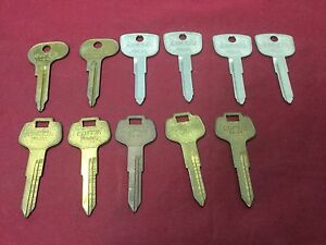 Honda Datsan Volkswagen By Curtis Automotive Key Blanks Set Of 11 locksmith