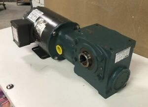 Baldor Electric Inverter Drive Motor Idnm3538 With Gear Reducer