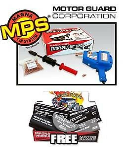Motor Guard Corp Jo1050 And Ap-3 Stud Welder And Sanding Block Promo
